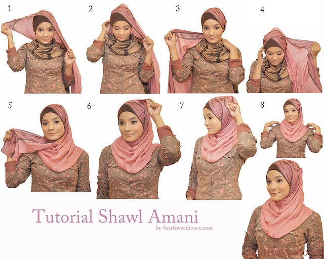 how to wear a scarf tutorials