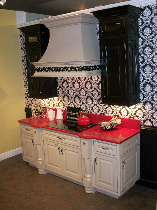 Estate Custom Collection Inset Rose Hall Maple Pebble Java And Midnight_ Wellborn  Cabinetry