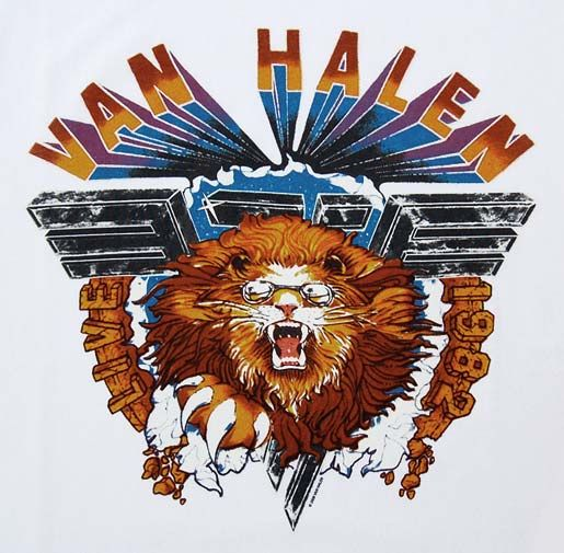 "most iconic van halen logo. definitely think this one would be cool. replace van halen with Delta Idol and ""1982"" with 2016"