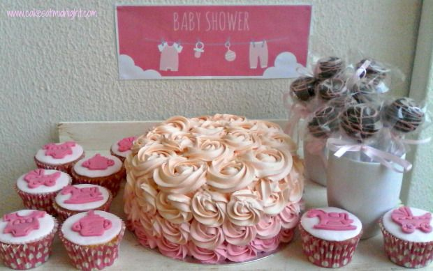 I love baking all kinds of cakes, but I think the ones for christenings and baby showers are my favourite. All that cuteness! This was a baby shower with a difference, though, because this onewas …