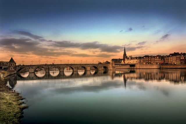 Maastricht where I was born and lived for 39 years <3  Maastricht brug