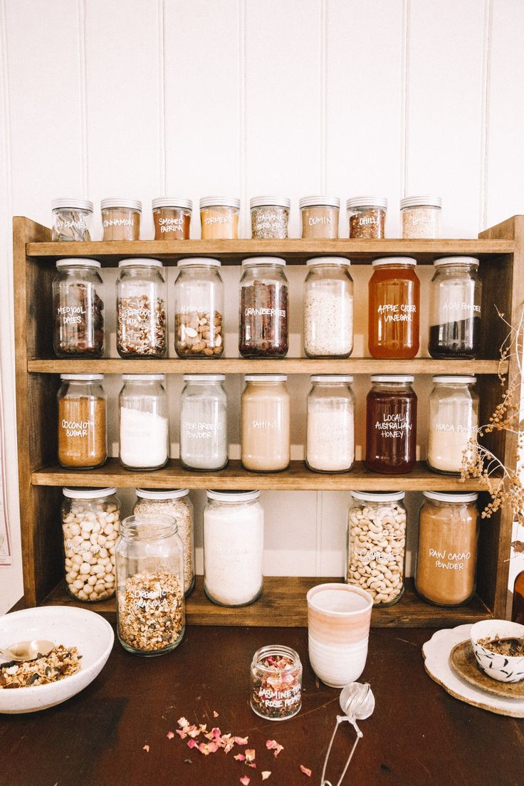 DIY Plastic Free Pantry - Spell & the Gypsy Collective