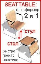Слул-стол SEATTABLE для конференций. Превращение происходит за секунды.  #PerpetuumModule  #дизайнинтерьера #предметныйдизайн #трансформация #мебель  #furniture #transform