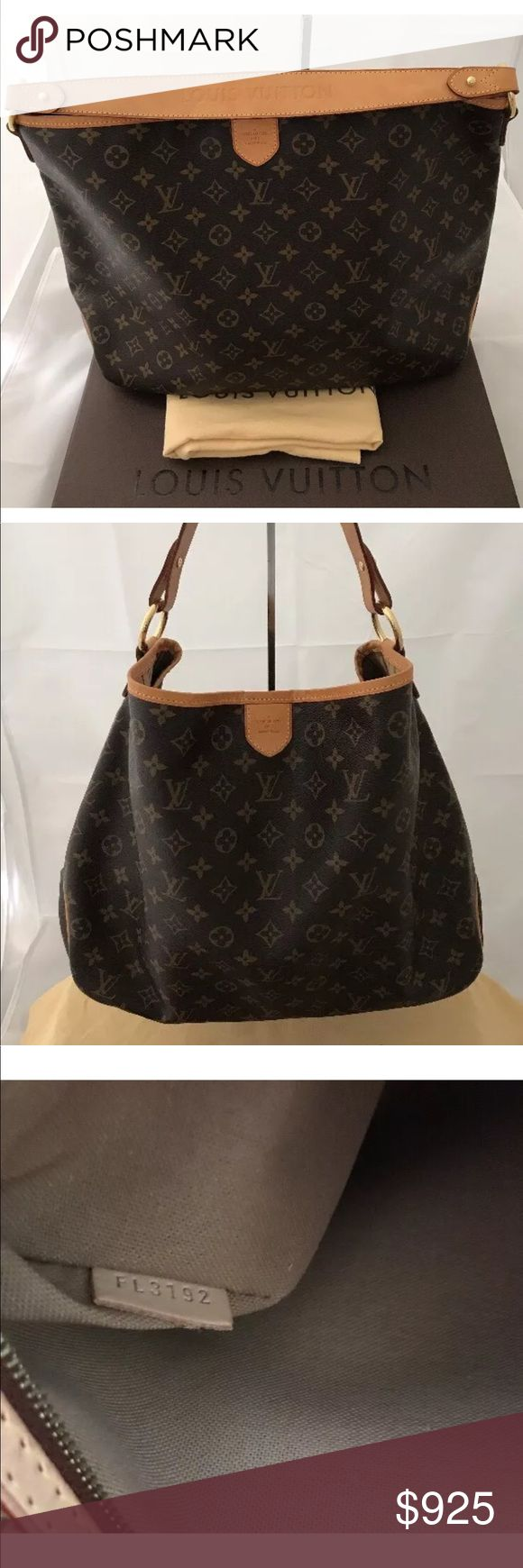 Selling this LOUIS VUITTON DELIGHTFUL MM 💯 percent AUTHENTIC. on Poshmark! My username is: lvluv2018. #shopmycloset #poshmark #fashion #shopping #style #forsale #Louis Vuitton #Handbags