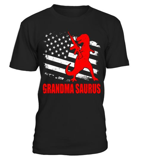 """# Grandma Saurus T-shirt T-rex American Flag Day .  Special Offer, not available in shops      Comes in a variety of styles and colours      Buy yours now before it is too late!      Secured payment via Visa / Mastercard / Amex / PayPal      How to place an order            Choose the model from the drop-down menu      Click on """"Buy it now""""      Choose the size and the quantity      Add your delivery address and bank details      And that's it!      Tags: Cool Family Saurus with a Gun on the…"""