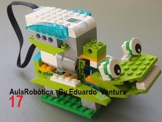 Aula Robótica: Robot Caminante con Lego WeDo 2.0 La Rana