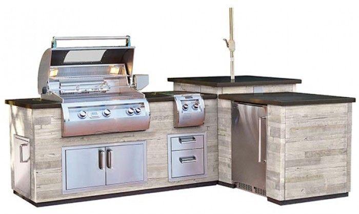 Fire Magic Dl660spr116ba Bbq Island Outdoor Grill Station Outdoor Kegerator