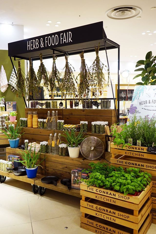 could host gardening how-tos and create your own herb garden events and cooking classes