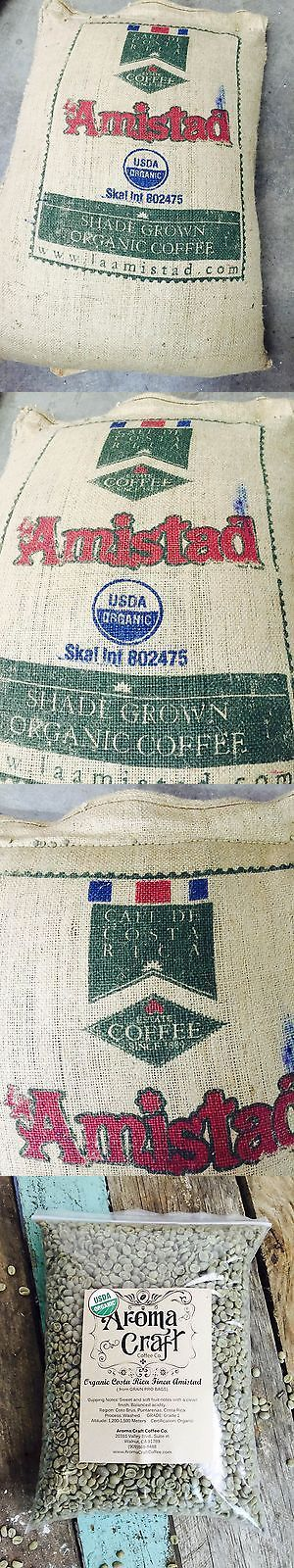 Coffee Beans 38179: Organic Costa Rica Finca Amistad Unroasted Green Coffee Beans Washed Up To 20 Lb -> BUY IT NOW ONLY: $127.99 on eBay!