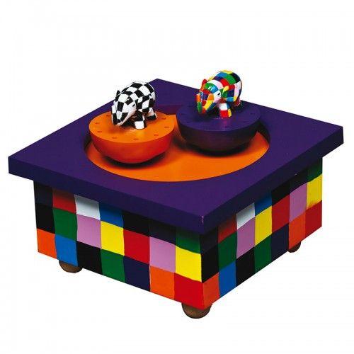 Trousselier crée une boîte pleine de couleur avec cette boîte à musique Elmer, en vente sur notre site http://www.jeujouet.com/trousselier-boite-a-musique-bois-elmer.html N'hésitez pas à liker et partager ! #BoiteAMusique #Elmer #Trousselier #Jeujouet