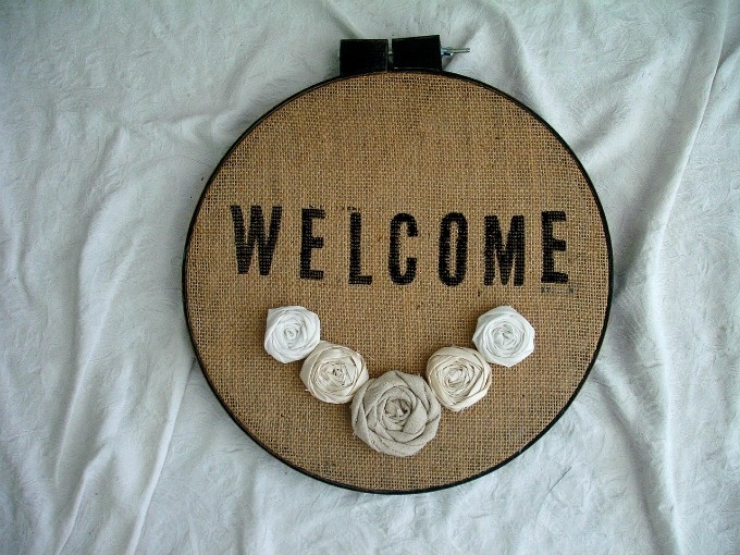 welcome hoop by MiGi Handmade