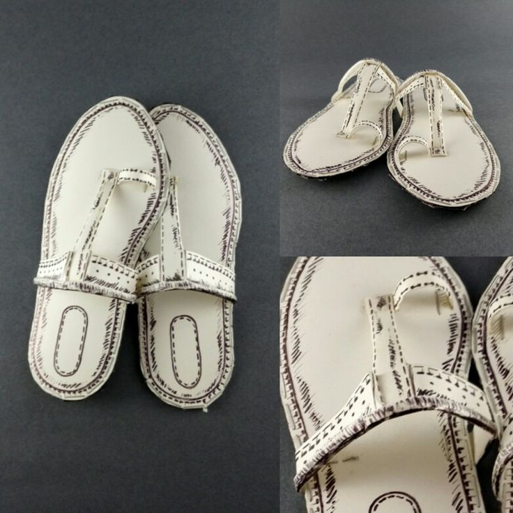 #Indian footware-kolhapuri#with paper and cards#funcups