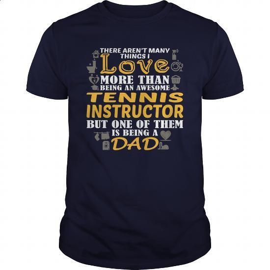 Awesome Tee For Tennis Instructor - #funny tshirts #cool t shirts for men. BUY NOW => https://www.sunfrog.com/LifeStyle/Awesome-Tee-For-Tennis-Instructor-146930257-Navy-Blue-Guys.html?60505
