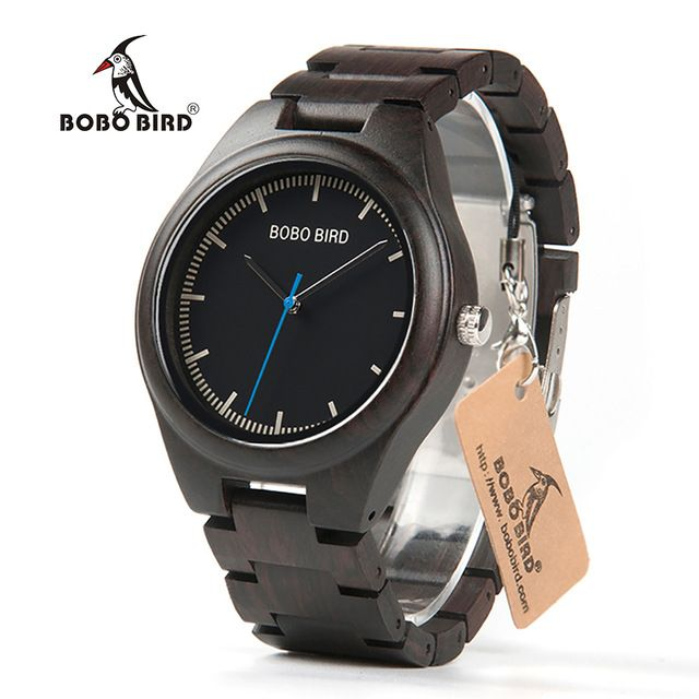 Promotion price BOBO BIRD New Designer Luxury Wood Wrist Watch Men Japan Move' Quartz Watches with Wooden Watch Box relogio masculino C-O03  just only $22.76 with free shipping worldwide  #menwatches Plese click on picture to see our special price for you