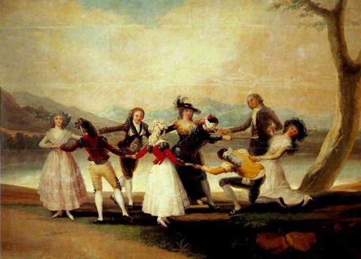 Francisco de Goya - La gallina ciega