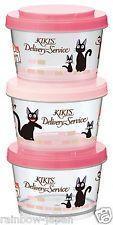 Kiki's Delivery Service 3P 240ml Storage Container Lunch Bento Box Studio Ghibli | eBay
