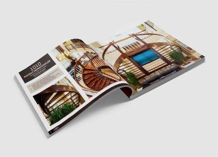 Katalog Tasarımı - Çakır Ahşap