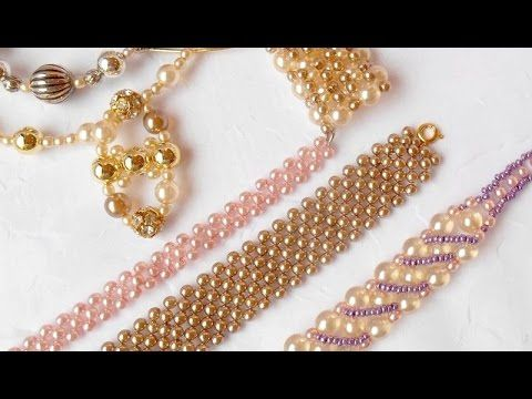 Beaded bracelet - Bracelet de perles - YouTube