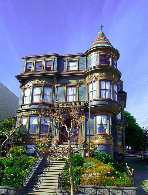 17 best images about san francisco painted ladies on for Houses in san francisco