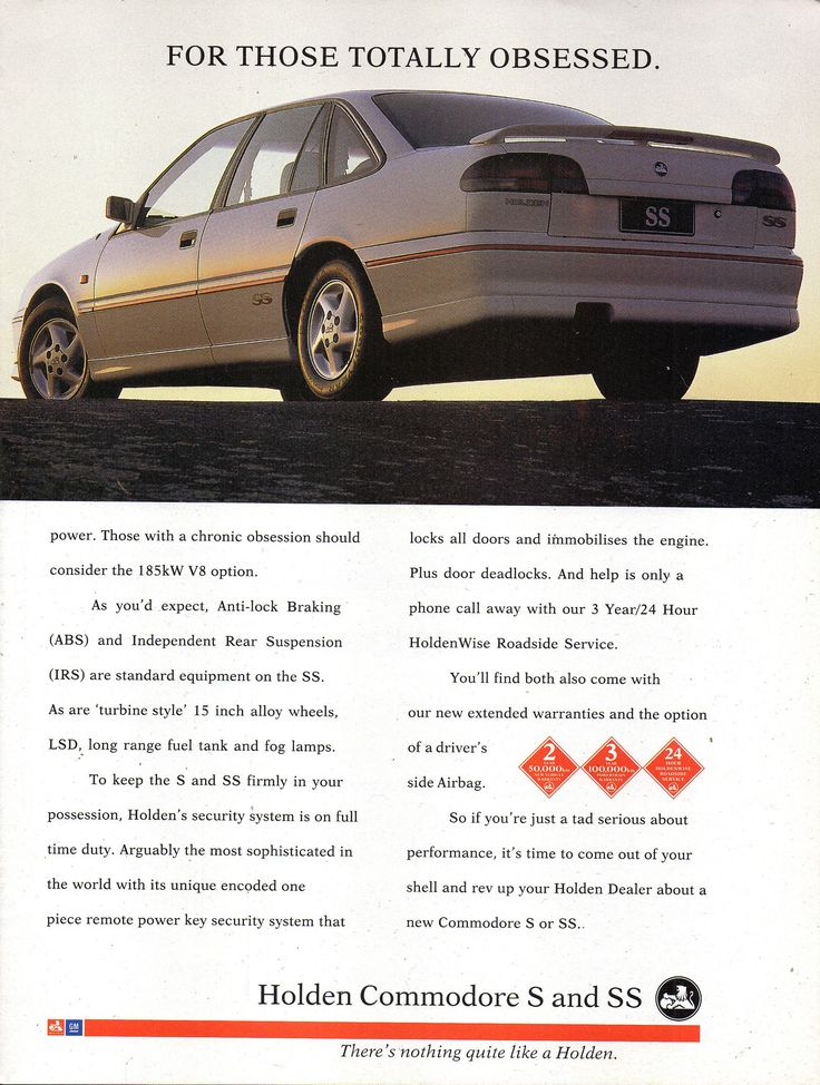 https://flic.kr/p/2121mVw | 1994 VR Holden Commodore S & SS Sedan Page 2 Aussie Original Magazine Advertisement