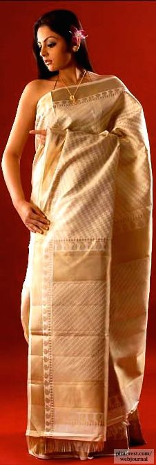 Assam handloom Muga silk -http://www.gourisariasarees.com
