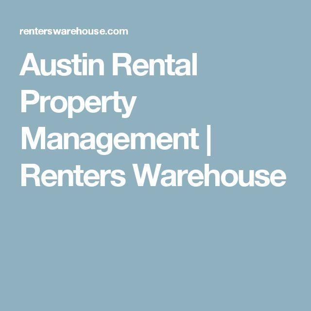 Austin Rental Property Management | Renters Warehouse