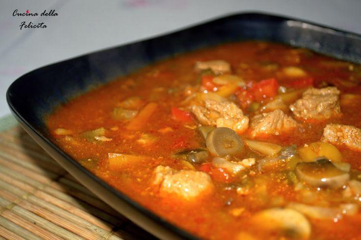 Cucina della Felicità: Węgierska zupa gulaszowa, zwana bograczem