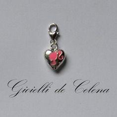 Conte-a-mains-gioiellidecelena collection bijou de sac coeur et sa douce silhouette rose fête des mères