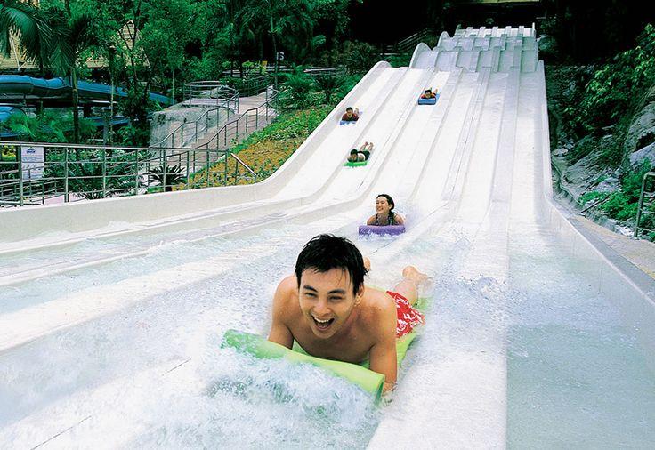 Sunway Lagoon park - Kuala Lumpur, Malaysia - Water, Amusement, Wildlife, Extreme, Scream park