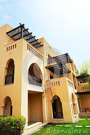 The Arabic Style Villas In Luxury Hotel Arabian Homes