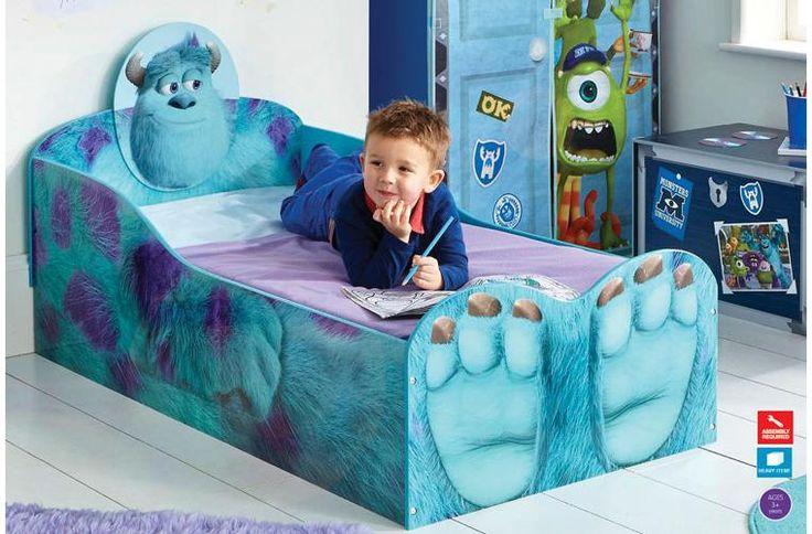 inc toddler bed mattress warren 39 s 2 room pinterest monsters inc