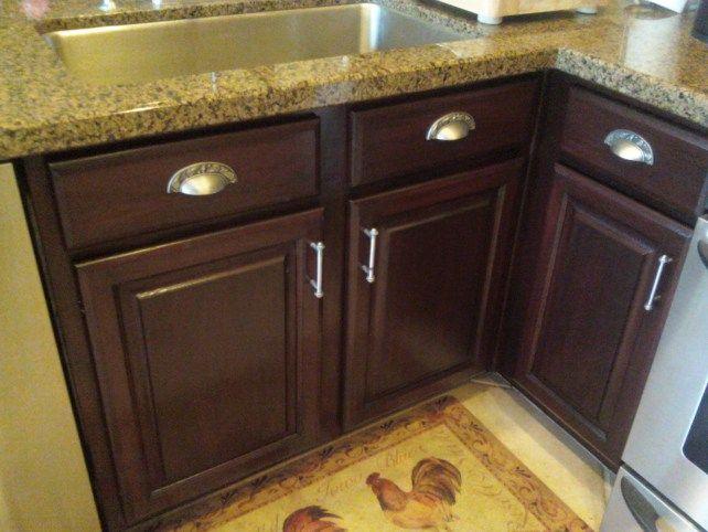 cupboard resurfacing | Cabinet Refinishing By Linda