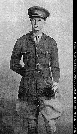 John Albert William Spencer-Churchill, 10th Duke of Marlborough | styled Marquess of Blandford until 1934, British peer. Pictured in 1916 as a Second-Lieutenant in the Life Guards....