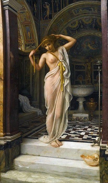 Диадумена (Эсквилинская Венера). Эдвард Джон Пойнтер Частная коллекция 1893. 223x132