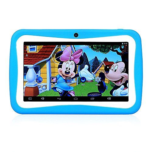 LLLccorp 7 inch Kids Education Tablets RK3126 Quad core Android 5.1 Bluetooth 512MB8GB Kids Games & Apps mini tablet pc