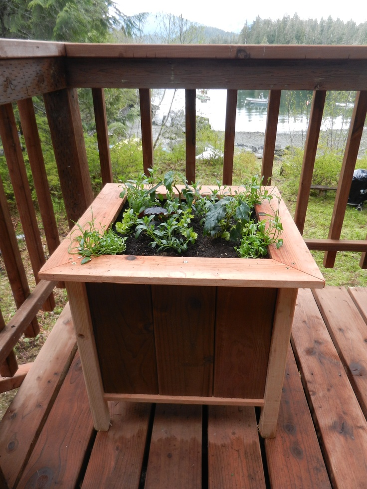 Composite Decking Planters