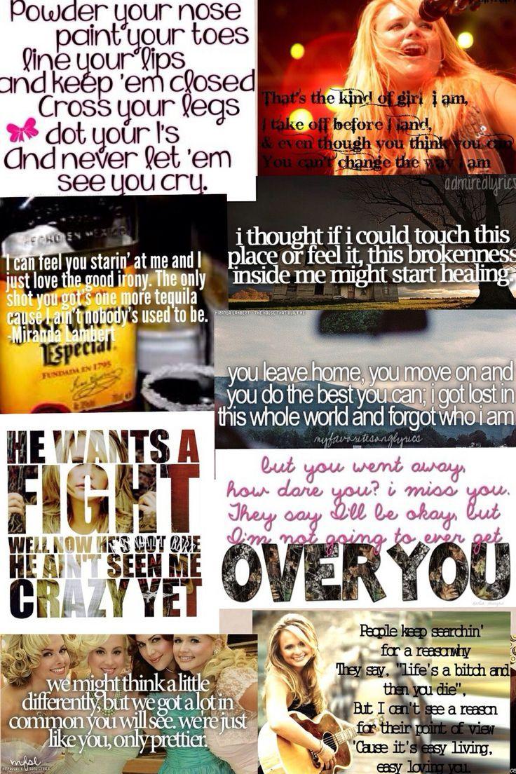 Miranda Lambert Quotes and Sayings   Miranda Lambert Quotes Tumblr Miranda lambert lyrics -