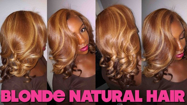 From Brown To Blonde [Video] - http://community.blackhairinformation.com/video-gallery/natural-hair-videos/brown-blonde-video/