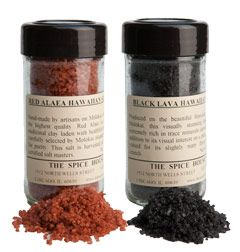 Red Alaea Sea Salt, I love this sprinkled on whipped cream atop ice cream or brownies