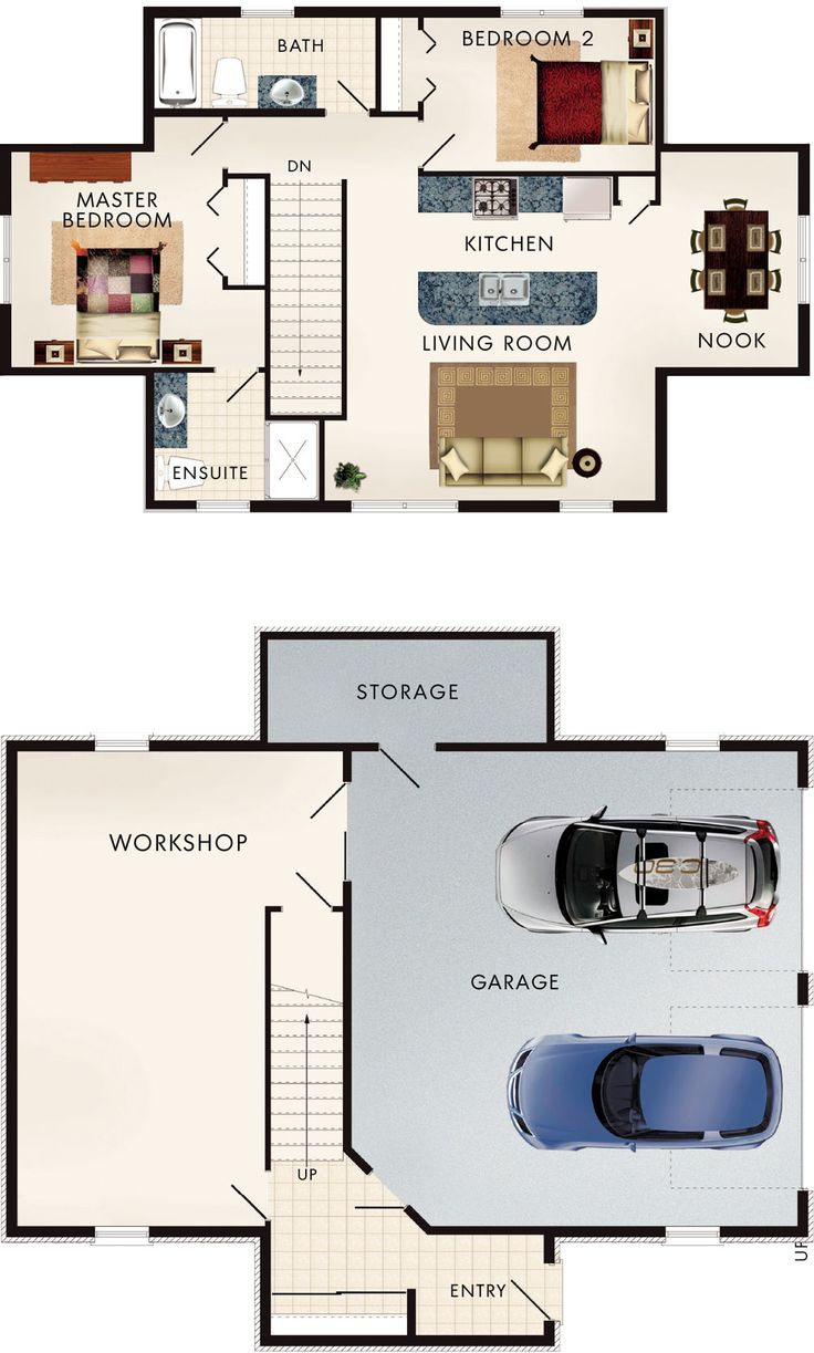Superb Cotswold I Floor Plan Add A Third Car To The Garage, Make The Dining Room  The Kitchen Making The Living Room Is Larger. Make The Ensuite A Walk In  Closest ...