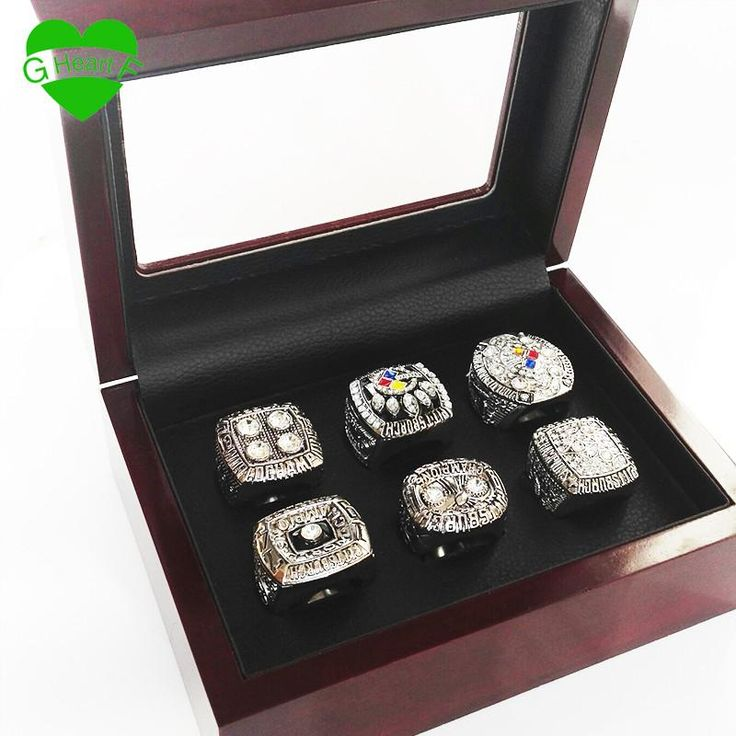 Now available on our store: Pittsburgh Steele... Check it out here! http://rshlenterprises.myshopify.com/products/pittsburgh-steelers-super-bowl-ring-set-1974-1975-1978-1979-2005-2008-replica?utm_campaign=social_autopilot&utm_source=pin&utm_medium=pin #GemsandTrinkets #ThisJustIn