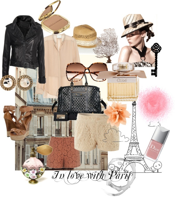 In love with Paris, created by gittesarlvit on Polyvore