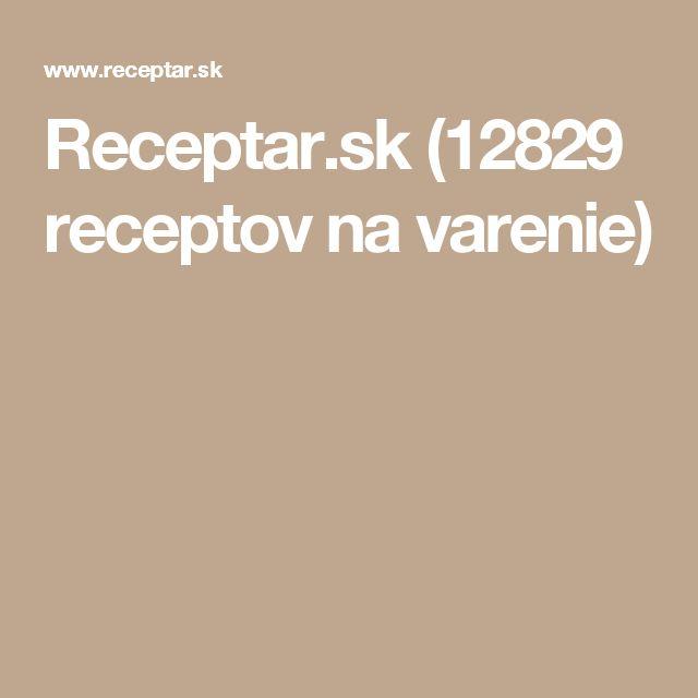 Receptar.sk (12829 receptov na varenie)