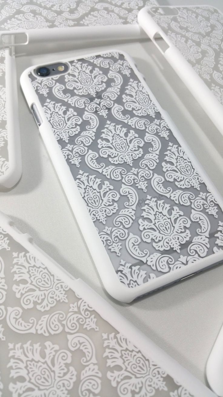 Featuring our white damask case from our vintage collection - Elegant & Stylish - Light Weight Case - Easy access to all ports & buttons - Compatible with all service provider - High quality plastic