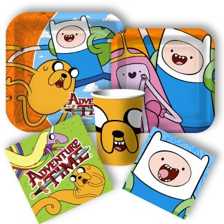 Adventure Time party supplies available this fall from www.DiscountPartySupplies.com