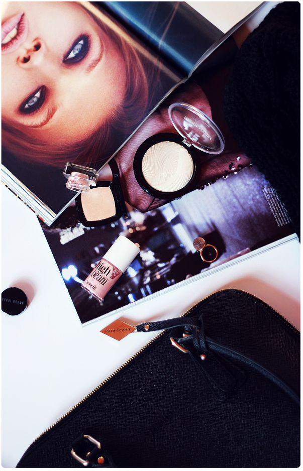 Alina Rose Makeup Blog: 3 dowody na to, że rozświetlacz jest źle dobrany.