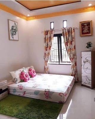inspirasi model kamar tidur utama dengan bentuk lesehan
