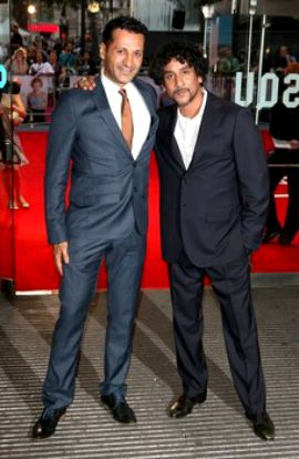 Awesome Lost Brothers come together Cas Anvar and Naveen Andrews arrive at the World Premiere of Diana