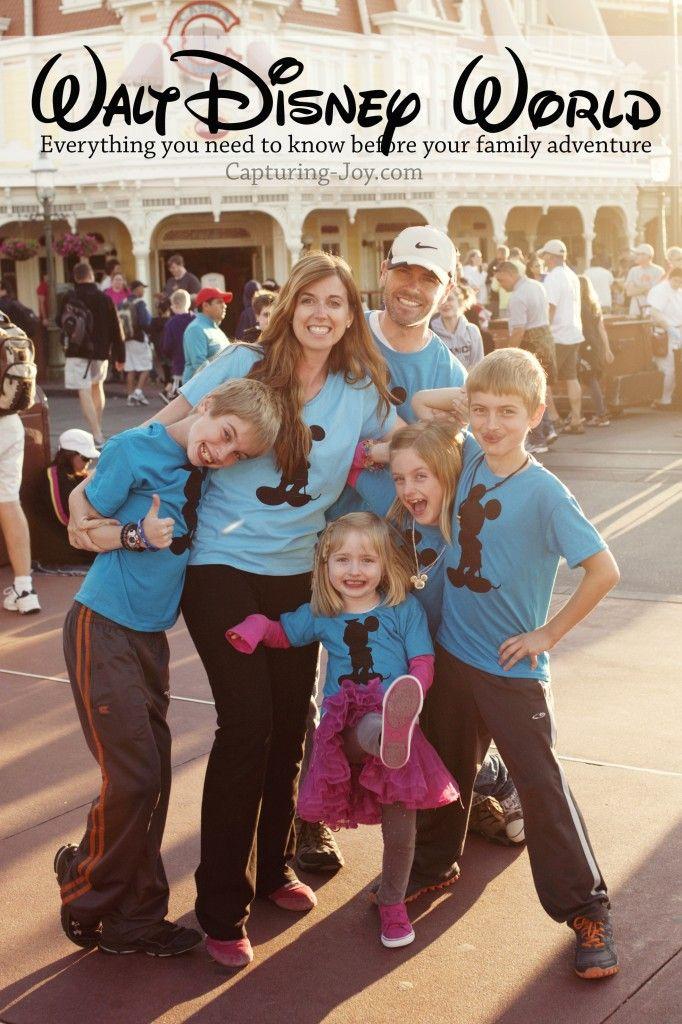 Walt Disney World Family Vacation: How to Plan your Trip #disney #familyvacation www.Capturing-Joy.com