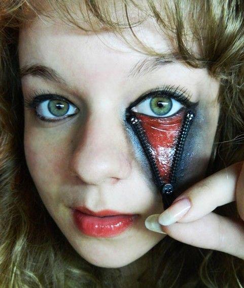 scary halloween makeup - Scary Halloween Eye Makeup